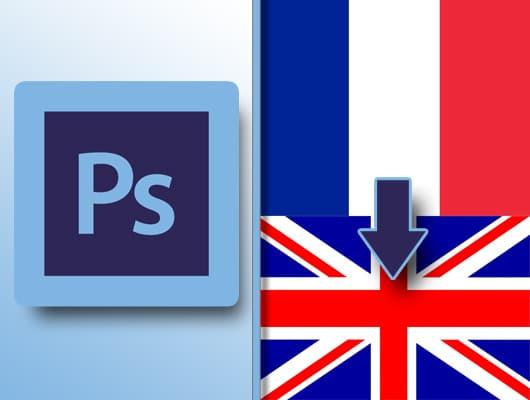 vignette photoshop en anglais