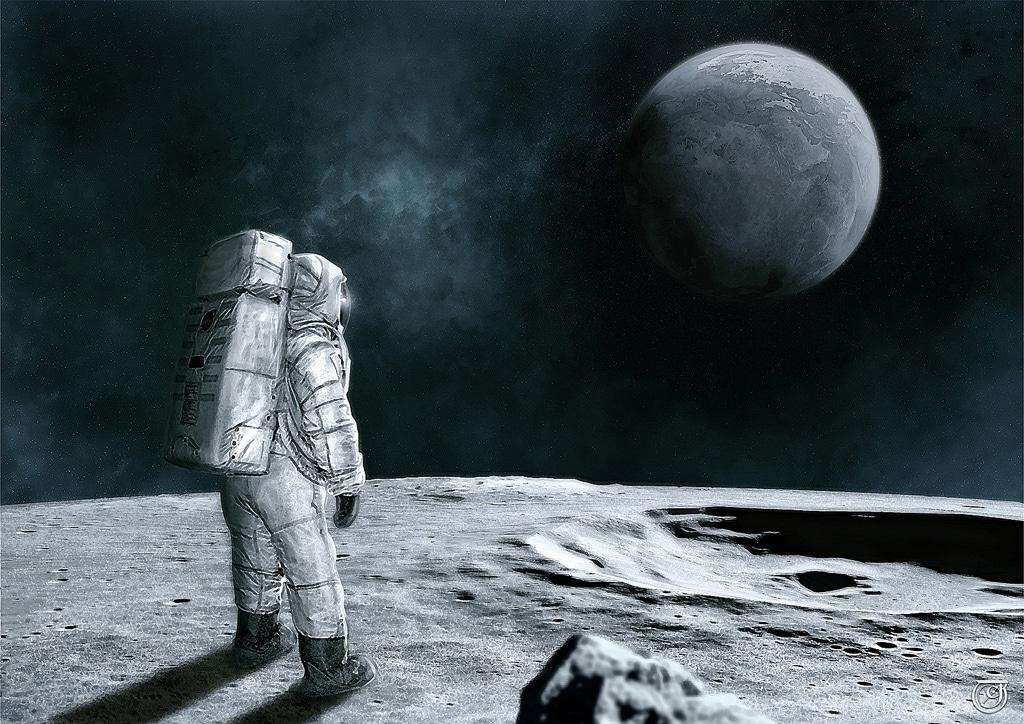 Quand la Terre devint Lune