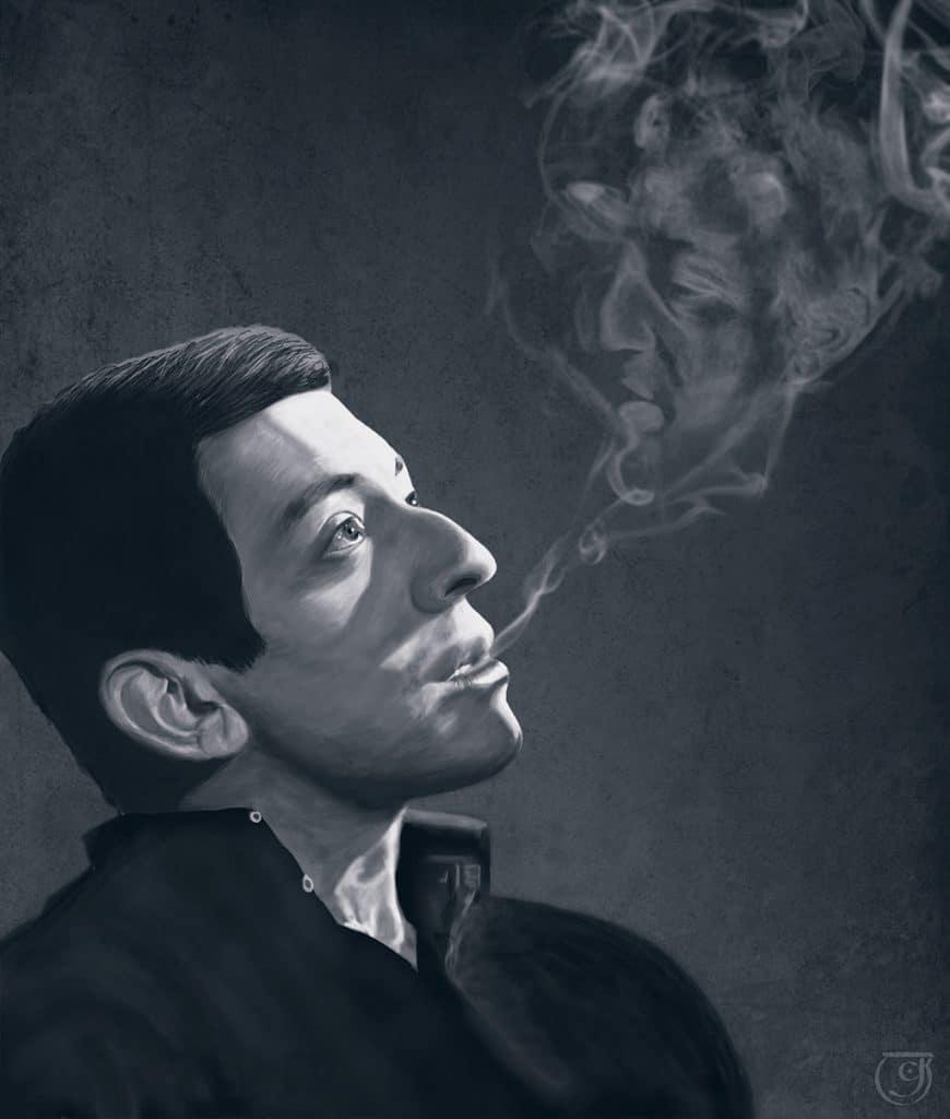 illustration Gainsbourg
